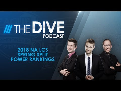 The Dive: 2018 NA LCS Spring Split Power Rankings