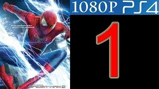 The Amazing Spider Man 2 Walkthrough Part 1 PS4 Gameplay