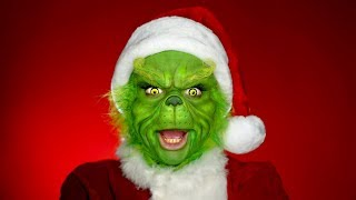 Turning Myself Into THE GRINCH using SFX Makeup