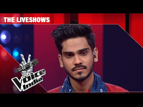 Farhan Sabir - Performance - The Liveshows Episode 22 - February 19, 2017 - The Voice India Season2