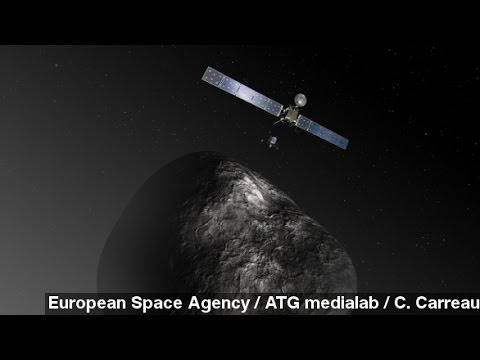 Comet-Chasing Spacecraft Wakes Up After 2 Years