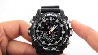 Review Of Spy G-shock Full HD 1080p Night Vision