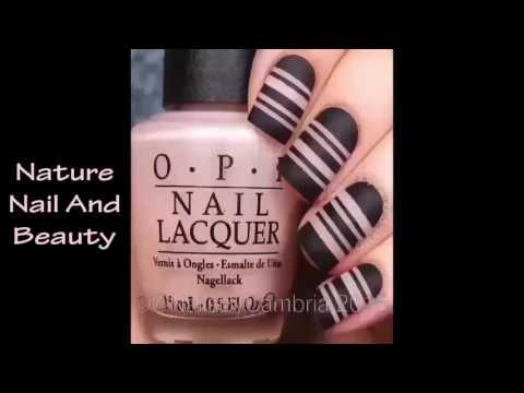 Hướng dẫn vẽ móng tay đẹp tự nhiên ♥2016♥ Part 1 Thiết kễ mẫu nail đẹp