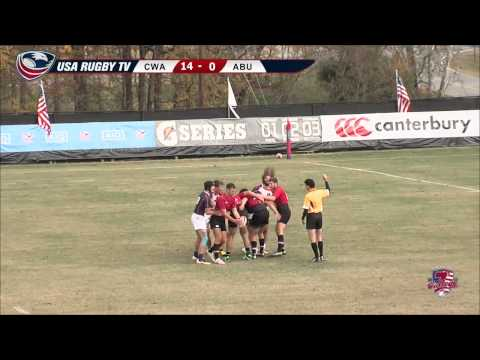 2013 USA Rugby College 7s National Championship: Central Wasthington vs. Auburn