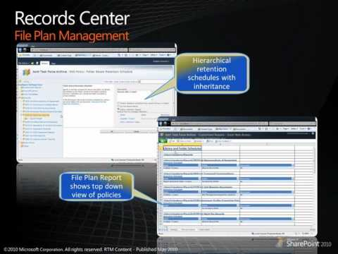 Records Management in SharePoint 2010 - Overview - EPC Group.net Youtube Channel
