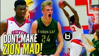 Zion Williamson Gets HECKLED & RESPONDS w/ BLOCK Party!