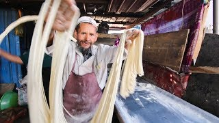 Incredibly RARE Muslim Street Food in DEEP China | SILK ROAD Street Food Series!