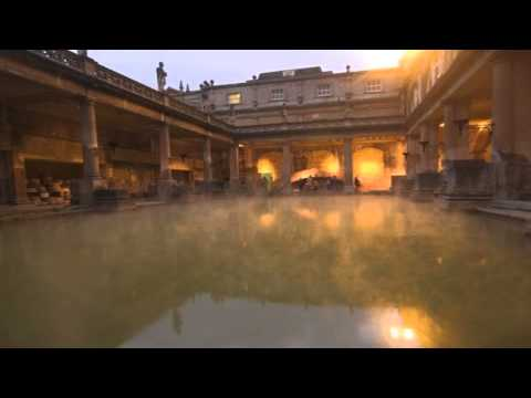 Roman Baths and Pump Room Bath Bristol Somerset