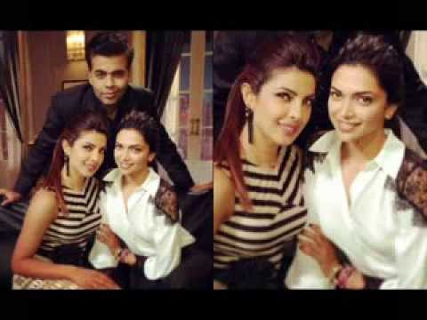 My Favourite Bollywood Actresses - Priyanka Chopra and Deepika Padukone