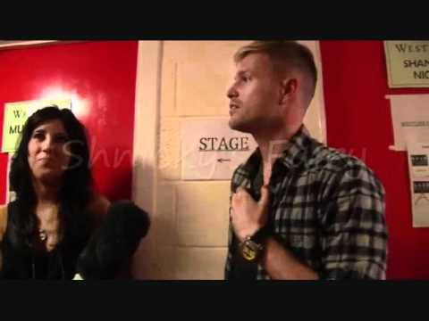 Westlife Nicky Byrne Backstage at the O2 blueroom 2010 (Part 1)