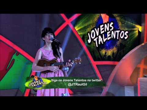 Programa Raul Gil -Bianca Malfatti (Hey Boy) - Jovens Talentos - #JT2013