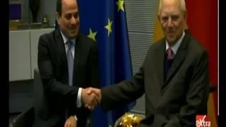 الرئيس السيسي يلتقي رئيس البرلمان الألماني
