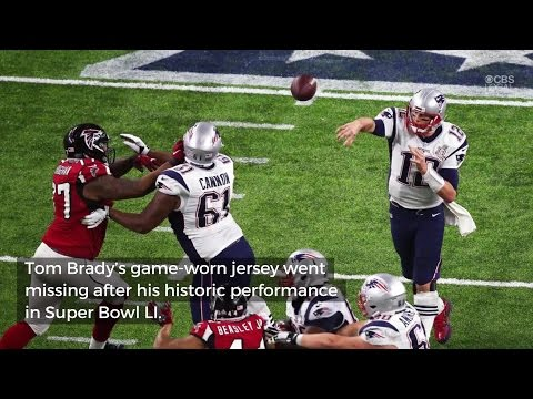 Brady's Missing Super Bowl Jersey Found By FBI, NFL