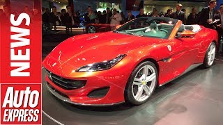 See the 592bhp Ferrari Portofino in the metal for the first time at Frankfurt.... Auto Express.