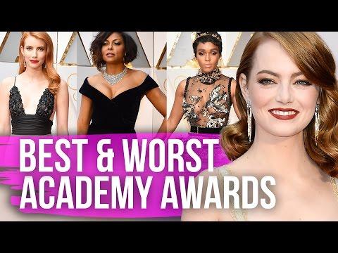 Best & Worst Dressed Oscars 2017