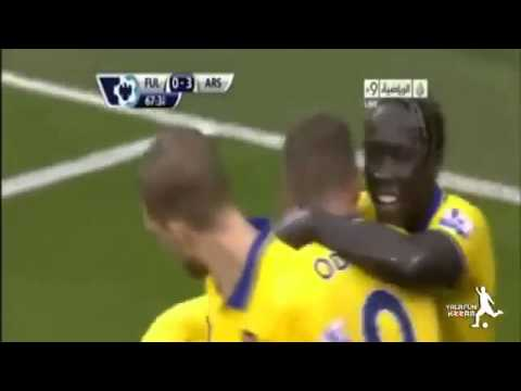 Arsenal vs Fulham 3 1 - All Goals & Highlights - Premier League HD
