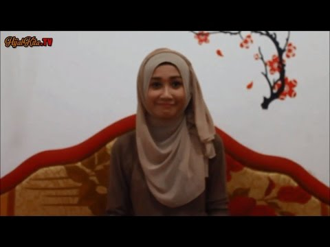 Tutorial Cara Memakai Jilbab Pashmina Simple Trendy