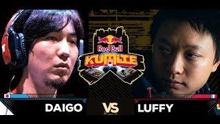 Red Bull Kumite 2016 : Luffy vs. Daigo - Losers Round 1