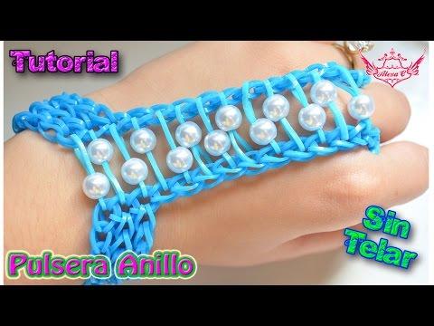 ♥ Tutorial: Pulsera Anillo (sin telar) ♥