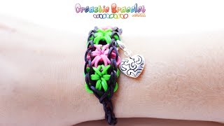 DIY Tutorial Starburst CREASTIC BRACELET Loom
