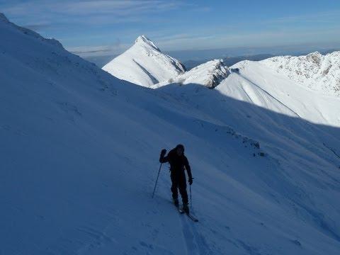 Esquí de Travesía en el Ganboa y Uzkuiti, Sierra de Aralar