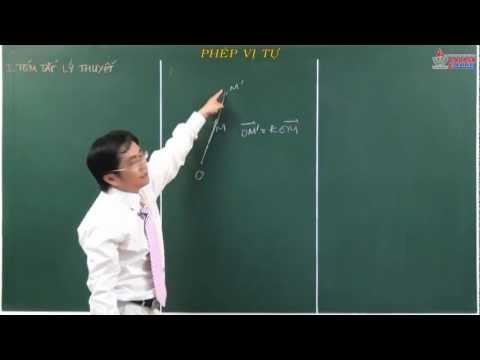 Video hình học lớp 11 - Phép dời hình - Phép đồng dạng - Phép vị tự - Cadasa.vn