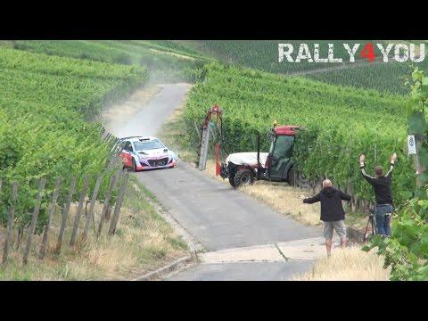 Rallye-Pilot verhindert fatalen Crash in letzter Sekunde