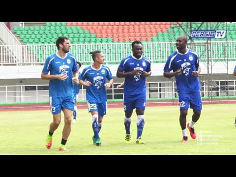 VIDEO: Michael Essien training with Indonesian side Persib Bandung after jail sentence scare
