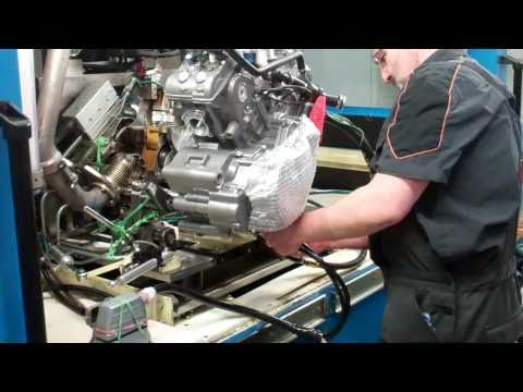 KTM Factory Tour: 2011 LC8 Dyno engine testing - 1