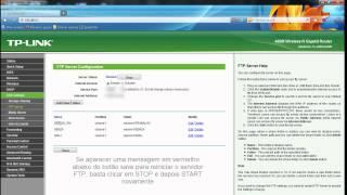 Configurando O Servidor FTP Do Roteador TP-Link WR2543ND
