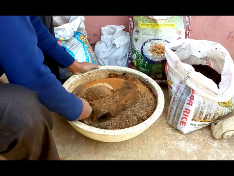 Soil making (mix) for tree pot and bottle