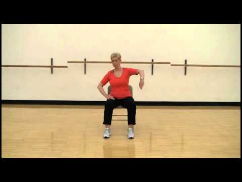 Smart Moves Chair Aerobics using legs and arms