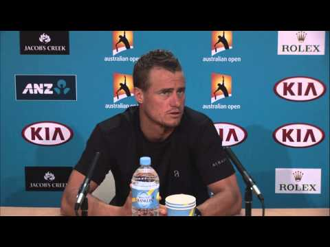 Lleyton Hewitt press conference - 2014 Australian Open