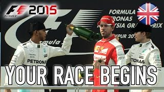 F1 2015 - Your race begins