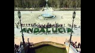 Día de Andalucía 2013. Flashmob Flamenco -Compartelo