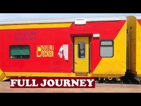 WAP7 Chennai Bangalore Double Decker Full Journey