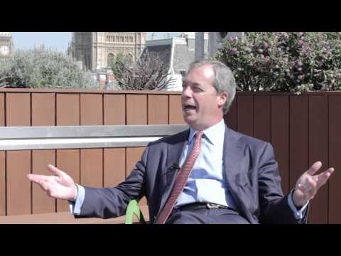 Nigel Farage on EU referendums, drugs liberalisation and a perfect Sunday