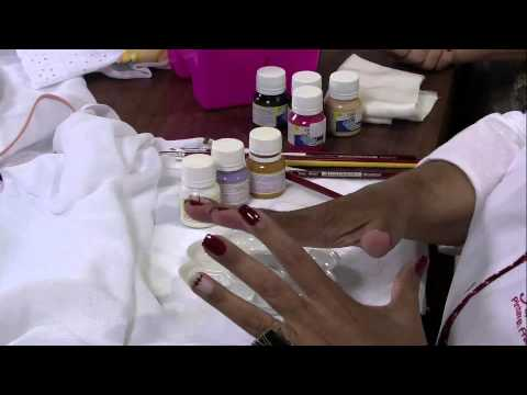 Mulher.com 15/05/2013 Filo Frigo - Pintura em fralda  Parte 1/2