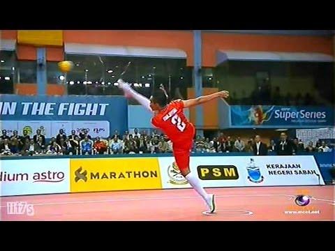 ISTAF Super Series 2013/14 Men's Final [MALAYSIA - THAILAND] SET1