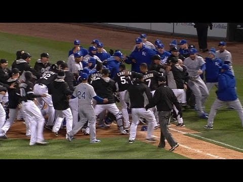 4/23/15: Royals top White Sox in contentious game