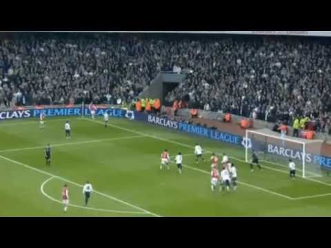 Nicklas Bendtner's Goal vs Tottenham from the bench after 2 Seconds | 2007/08