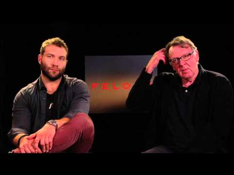 Felony: Jai Courtney & Tom Wilkinson Exclusive Interview Part 1 of 2