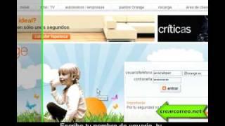 Crear Correo Electrónico Gratis En Orange