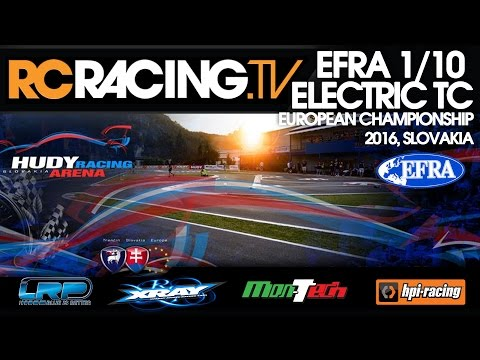 EFRA 1/10th ISTC Euros 2016 - Friday Qualifying- Live!