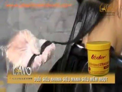 Hướng dẫn duỗi tóc cho tóc khỏe với thuốc duỗi tóc siêu nhanh siêu mạnh từ Pháp Léder