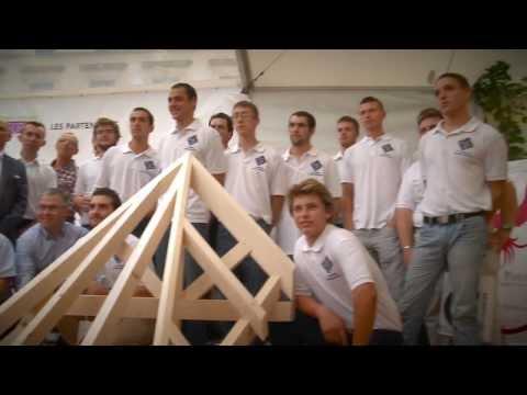 Sélection nationale du 11ème Championnat européen des jeunes Charpentiers