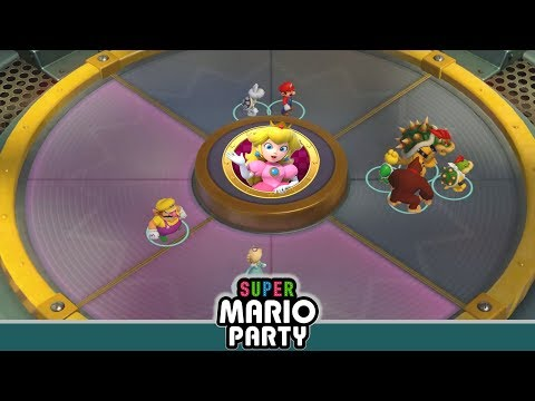 SUPER MARIO PARTY – PEACH TEAM MINIGAMES (Funny Minigame Compilation)