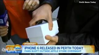 شاهد ماذا حدث لأول آيفون 6 تم بيعه في أستراليا