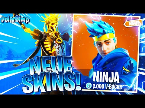CUSTOM GAMES SKIN CONTEST TURNIER🏆| NEUE SKINS!!!🔥 | NINJA IM SHOP!?! ❄ | Fortnite Live Deutsch|🔴