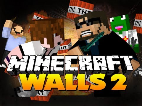 Minecraft - The Walls Revamped! (w/ Deadlox, Kermit and Woofless)